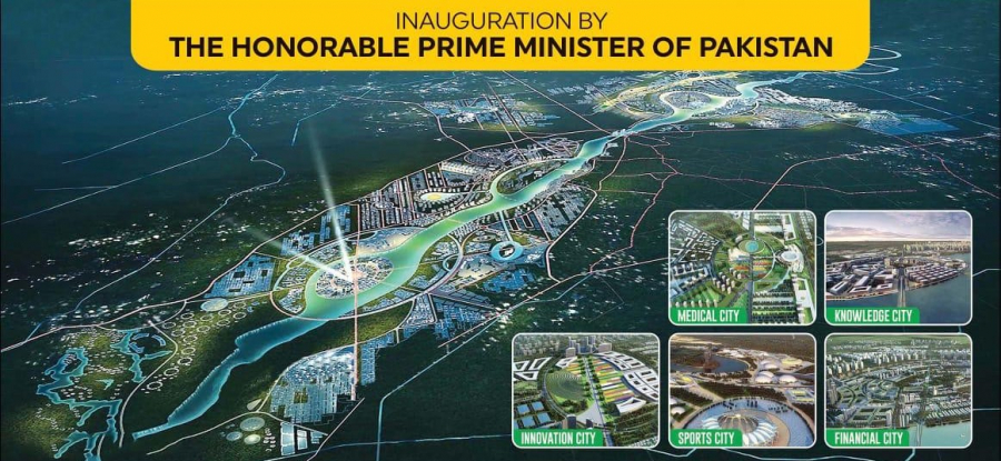 Ravi City urban development project an Economy Booster says Prime Minister  Imran Khan