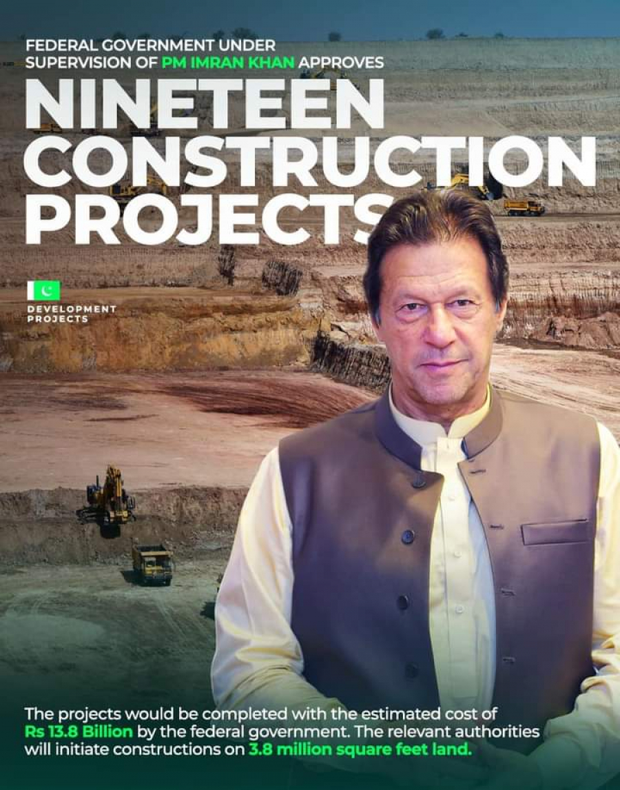 NCC on Housing, Construction and Development chaired by PM Imran Khan has approved 19 construction projects in Sindh