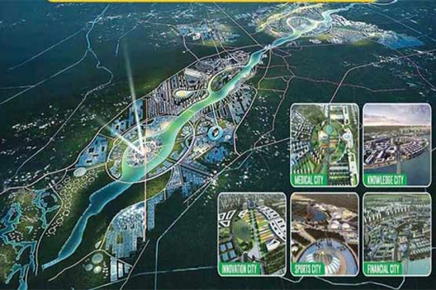 Ravi riverfront urban development project Lahore to officially launch on 15 September