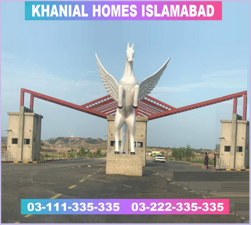 Khanial Homes   Marla Plot for sale by Alam Enterprises Islamabad