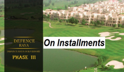 DHA Raya Golf Course Resorts on Installments