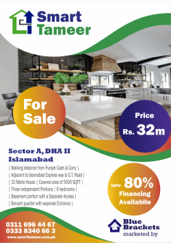 10 Marla House for Sale DHA 2 Sector A Islamabad