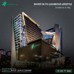 Luxury Services Apartment For Sale On 4 Years Easy Installments in Sector B-17 Islamabad