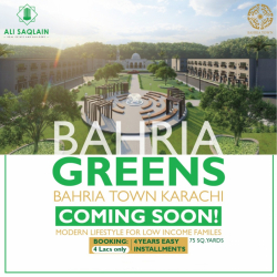 Booking Open for Bahria Greens Karachi